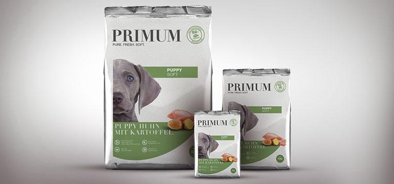 PRIMUM Welpenfutter - Puppy Soft Huhn