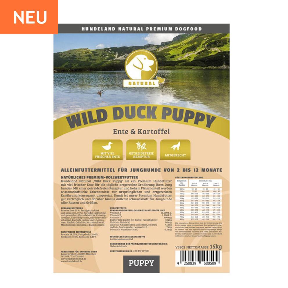 Wild Duck Puppy