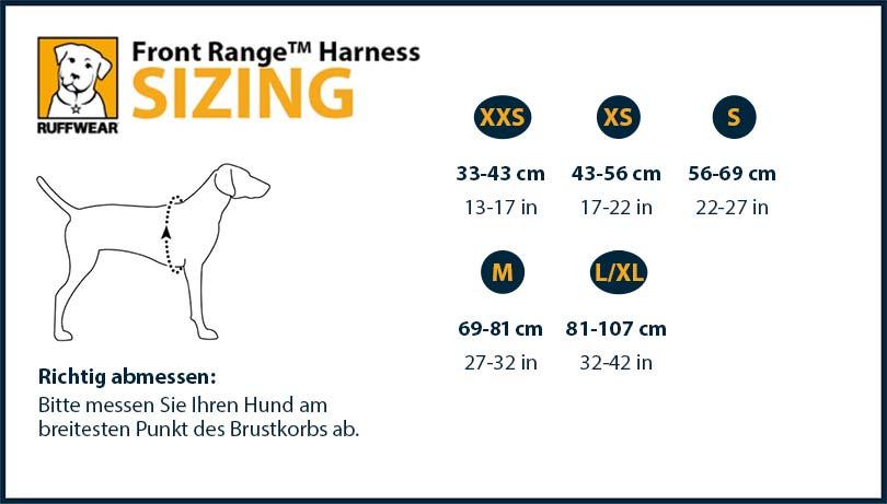 Front Range Harness Campfire Orange